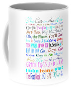 Dr Seuss Books 3 Coffee Mug