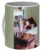 Draftsman - Cartographer's Desk Coffee Mug by Susan Savad