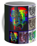 Dragon Collage Coffee Mug