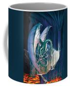Dragon Lair With Stairs Coffee Mug