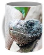 Dragon Lizzard Portrait Closeup Coffee Mug