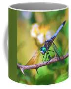 Dragonfly Art - A Thorny Situation Coffee Mug