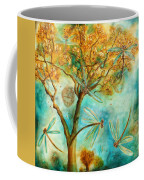 Dragonfly Flirtation Coffee Mug