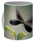 Dragonfly In Flight Coffee Mug