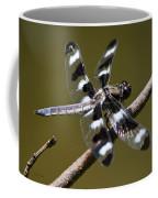 Dragonfly Twelve Spot Skimmer Coffee Mug
