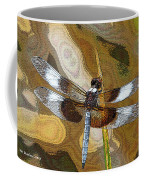 Dragonfly Waiting For A Fly Coffee Mug