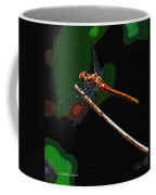 Dragonfly Waits Coffee Mug