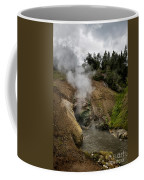 Dragon's Mouth Spring - Yellowstone Coffee Mug