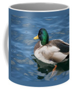 Green Headed Mallard Duck Coffee Mug