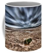 Drama At Freshwater West Coffee Mug