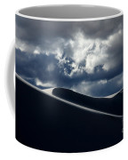 Drama Of The White Sands Coffee Mug