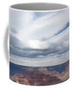 Dramatic Clouds Over The Grand Canyon Coffee Mug