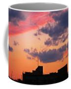 Dramatic Sky Dwarfs Halifax Skyline Coffee Mug
