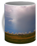 Dramatic Sky Over The Very Large Array Coffee Mug