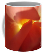 Glowing Orange Rose 2 Coffee Mug