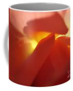 Glowing Orange Rose 2 Coffee Mug