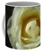 Dramatic White Rose 3 Coffee Mug