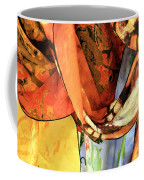 Draped Scarves Coffee Mug