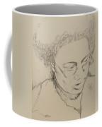 Drawing Of A Woman Coffee Mug