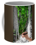 Drawn To The Woods With Imagination Coffee Mug