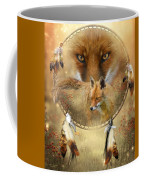 Dream Catcher- Spirit Of The Red Fox Coffee Mug
