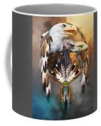 Dream Catcher - Three Eagles Coffee Mug