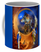 Dream Catcher - Wolf Dreams Coffee Mug