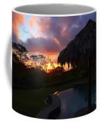Dream Sunset In Costa Rica Coffee Mug