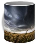 Dreamcatcher - Scenic Storm Over Kansas Plains Coffee Mug