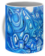 Dreaming In Blue Coffee Mug