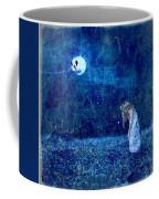 Dreaming In Blue Coffee Mug by Rhonda Barrett