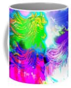 Dreaming Of Rainbow Horses Coffee Mug