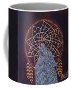 Dreaming Wolf Coffee Mug