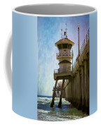 Dreamy Day At Huntington Beach Pier Coffee Mug