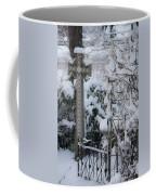 Dreamy Snowy Cross Coffee Mug