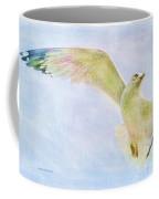 Dreamy Soft Seagull Coffee Mug