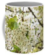 Dreamy White Cherry Blossoms - Impressions Of Spring Coffee Mug