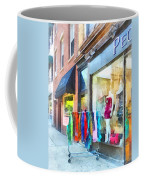 Hoboken Nj Dress Shop Coffee Mug