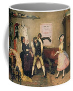 Dressing For The Masquerade Coffee Mug