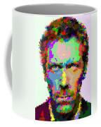 Dr. House Portrait - Abstract Coffee Mug