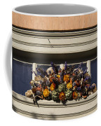Dried Flowers And Atichoke Spray Coffee Mug