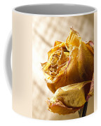 Dried Yellow Rose Coffee Mug