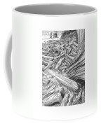 Critter In The Driftwood  Coffee Mug