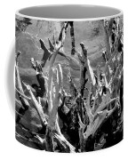 Driftwood On Lost Lake Coffee Mug by Michelle Calkins