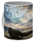 Driftwood Sunset Coffee Mug