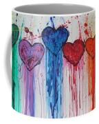 Dripping Hearts Coffee Mug