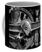 Drive Wheel - 190 - Bw Coffee Mug