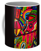 Driven To Abstraction - Parts And Pieces Coffee Mug