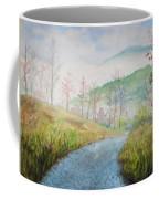 Driving Down The Mountain Coffee Mug