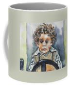 Driving The Taxi Coffee Mug